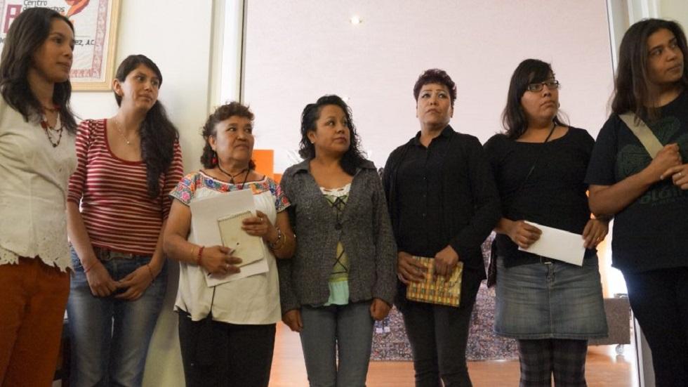 Corte Interamericana condena a México por abusos a Mujeres de Atenco - Mujeres víctimas de abusos policiaco en Atenco y Texcoco. Foto de Cuartoscuro