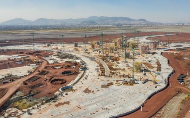 Sí hubo corrupción en construcción del NAIM: López Obrador - Construcción del NAIM. Foto de Bloomberg