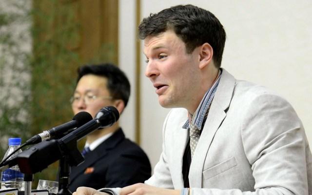 Corea del Norte deberá pagar 501 mdd por muerte de universitario - Foto de KCNA VIA KNS/KCNA/AFP