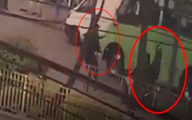 #Video Policía evita que asaltantes escapen en Azcapotzalco
