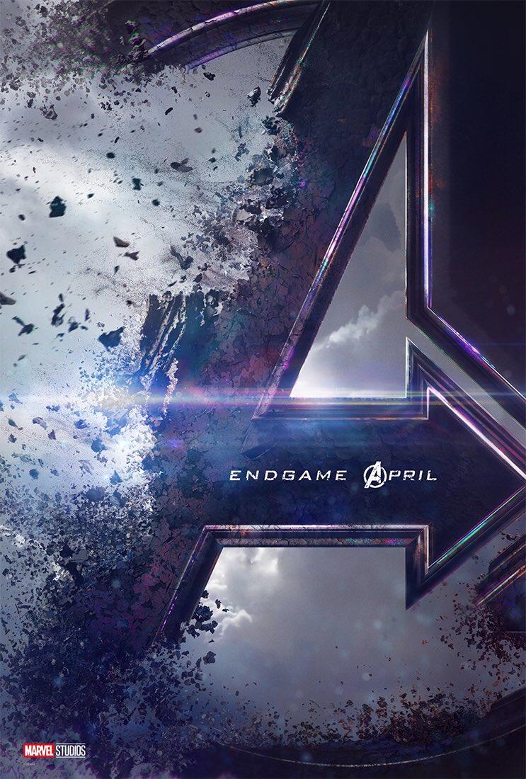Póster de Avengers 4. Foto de @MarvelLATAM