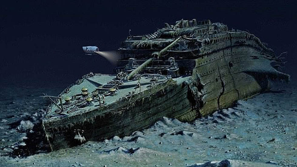 Restos del Titanic. Foto de Getty Images
