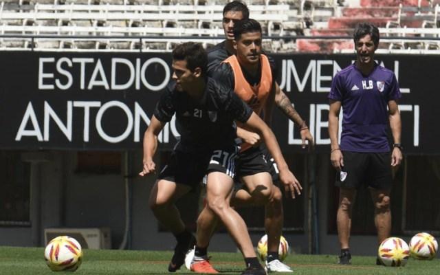 River Plate y Boca Juniors apuran preparativos para final de Libertadores - Foto de @CARPoficial