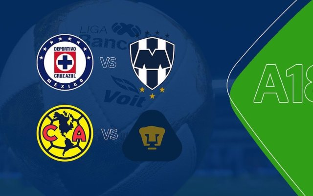 Definidos los horarios de las Semifinales de Liga MX