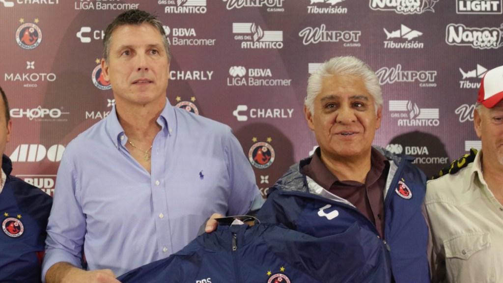 Tiburones Rojos contrata a Siboldi como técnico - siboldi es nuevo técnico del veracruz