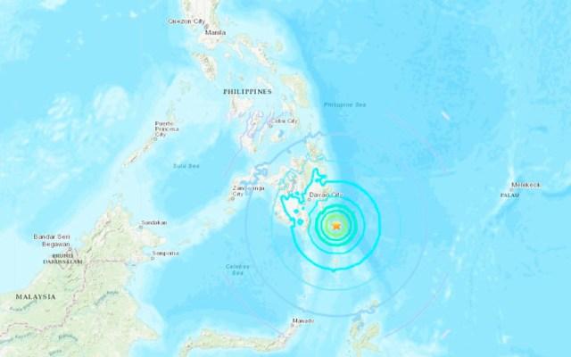Cancelan alerta de tsunami por sismo en Filipinas - Foto de internet