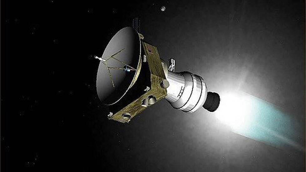 Sonda New Horizons. Foto de @AlanStern