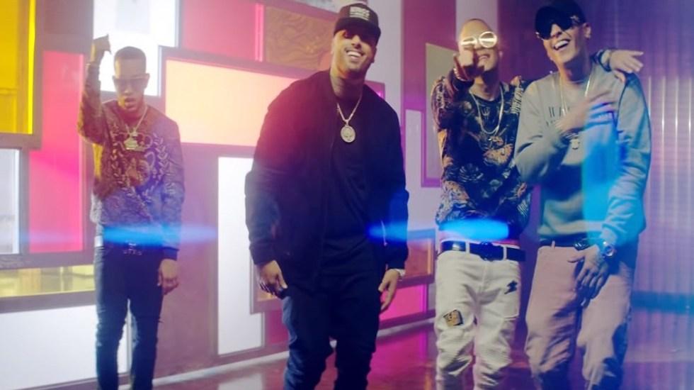 Te boté es el video musical más popular de YouTube - Te boté remix. Captura de pantalla