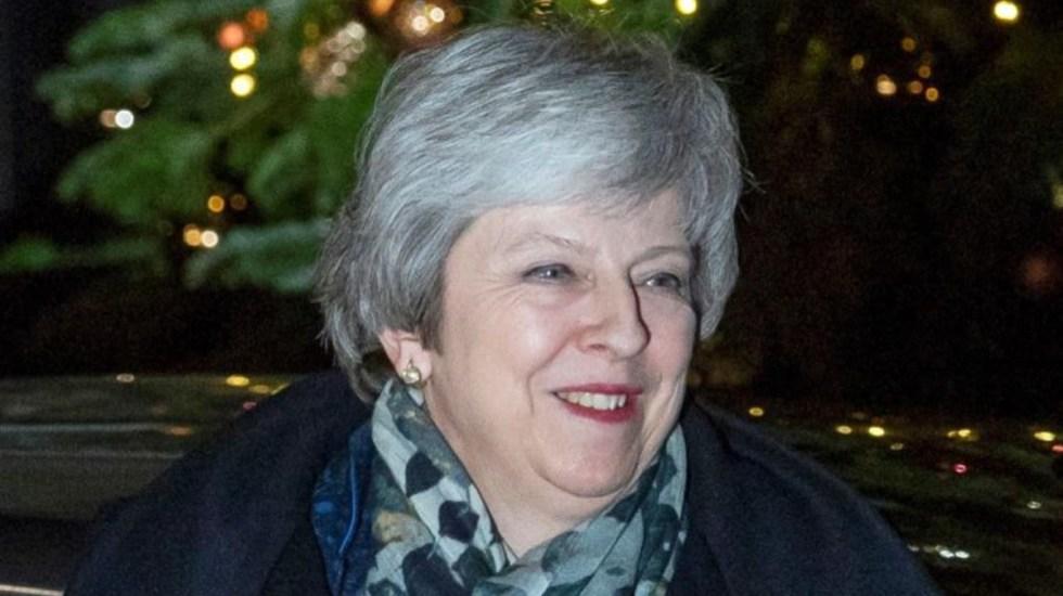 Theresa May continúa en el cargo tras votación de confianza - Theresa May supera el voto de confianza