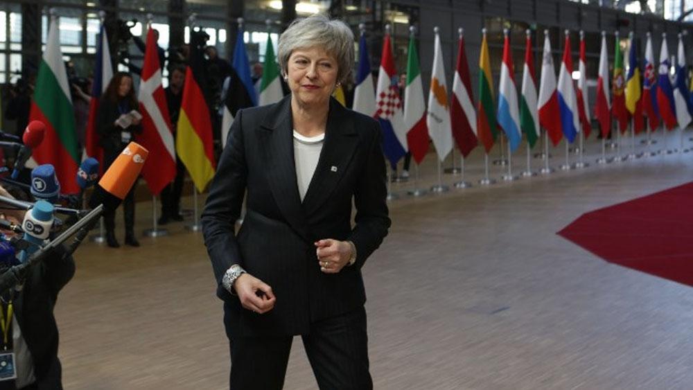 Theresa May confirma renuncia para las elecciones del 2022 - Theresa May. Foto de Aris Oikonomou / AFP