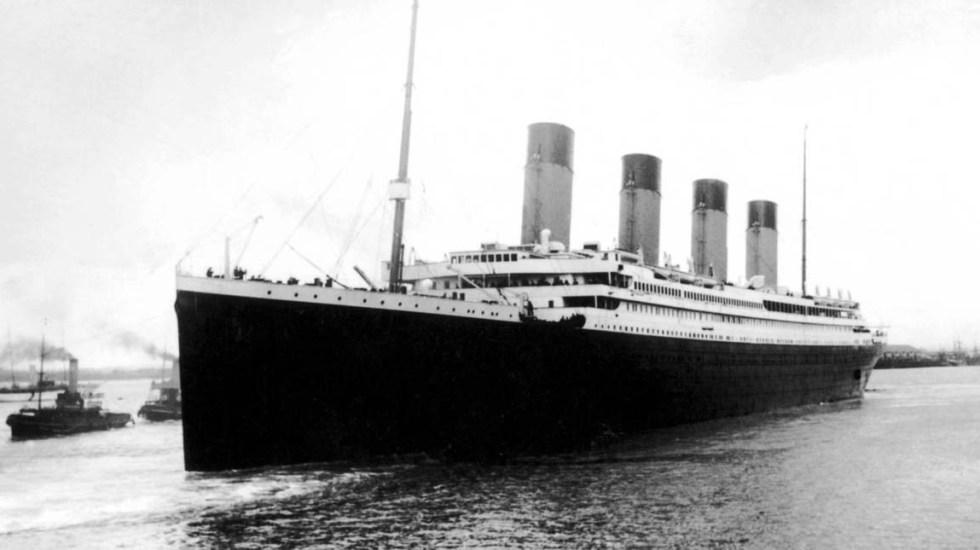 EE.UU. financió búsqueda del Titanic para engañar a la Unión Soviética - El Titanic se hundió el 15 de abril de 1912. Foto de Internet
