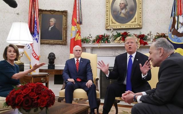 Pelea de declaraciones entre Trump y Pelosi - trump pelosi