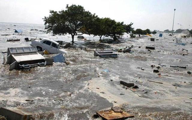 Los tsunamis más catastróficos desde 2004 - Tsunami en Indonesia 2004. Foto de Internet
