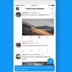 Twitter regresa tuits en orden cronológico - Vista de tuits en orden cronológico. Captura de pantalla