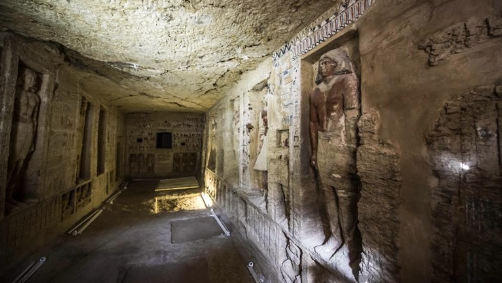 Encuentran tumba de cuatro mil 400 años de antigüedad en Egipto - Foto de Khaled DESOUKI / AFP