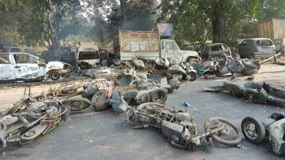 Linchan a dos hombres por masacre de 25 vacas en la India - Foto de AFP