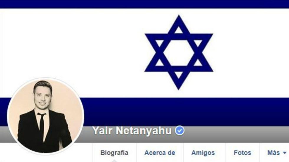Facebook bloquea perfil de hijo de Netanyahu por sus mensajes racistas - Foto de Internet