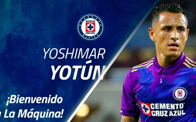Yoshimar Yotún es nuevo refuerzo de Cruz Azul - Foto de @Cruz_Azul_FC