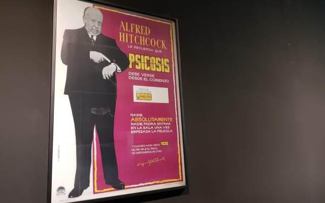 Para conocer a Alfred Hitchcock - Exposición de Alfred Hitchcock en la Cineteca. Foto de López-Dóriga Digital.