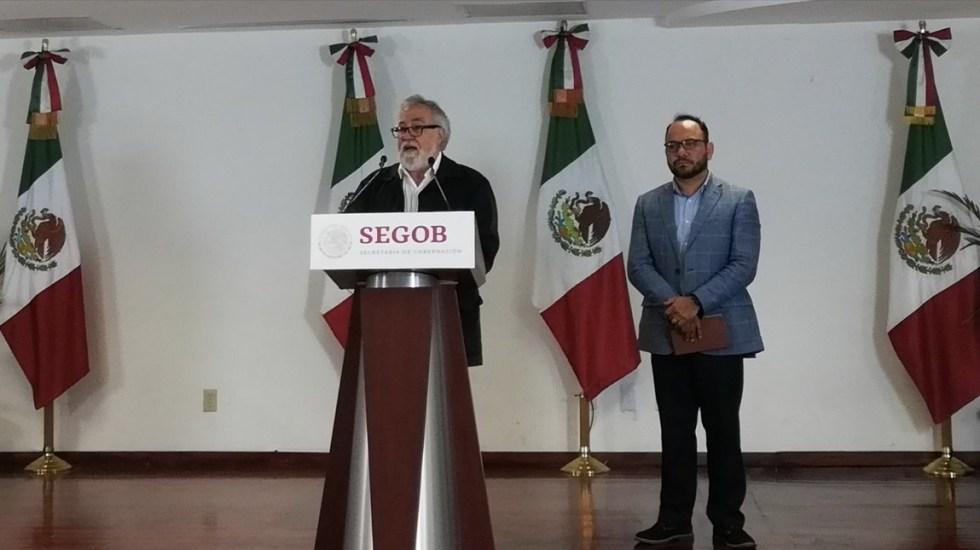 Segob anuncia bases para elección de titular de Comisión Nacional de Búsqueda - Foto de Twitter Alejandro Encinas
