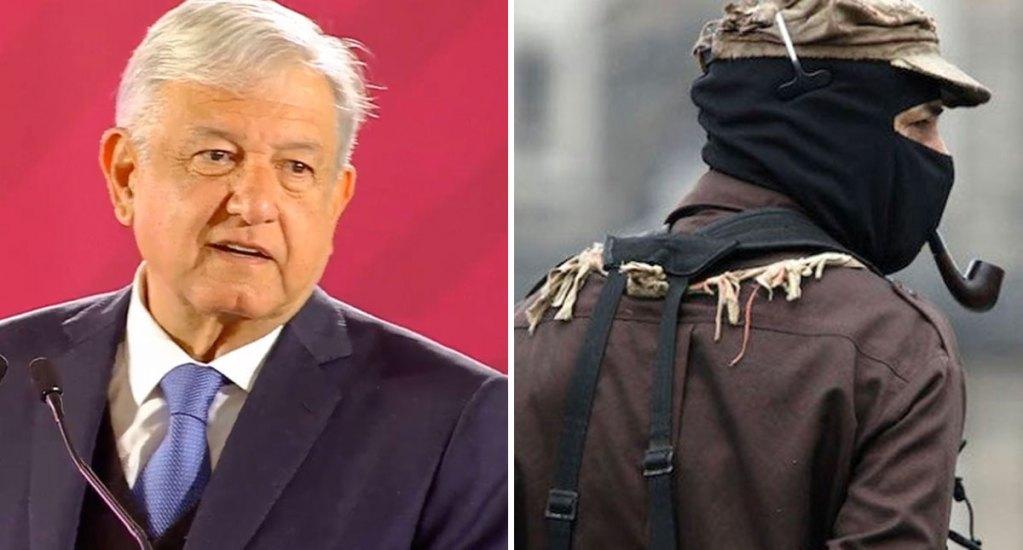 AMLO rechaza conflicto con el subcomandante Marcos - AMLO aseguró no preocuparse por señalamientos del EZLN. Foto Especial