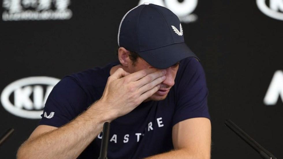 Andy Murray anuncia su retiro - Foto de William WEST / AFP