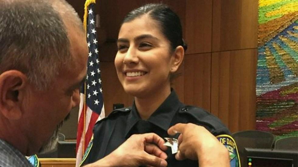 Asesinan a policía de 22 años en California - Foto de AP
