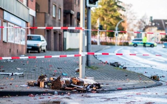 Detienen a hombre que embistió a peatones con un auto en Alemania - Foto de Marcel Kusch / AFP