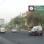 #Video Bache afecta a automovilistas en Eje Central y Reforma - Captura de Pantalla