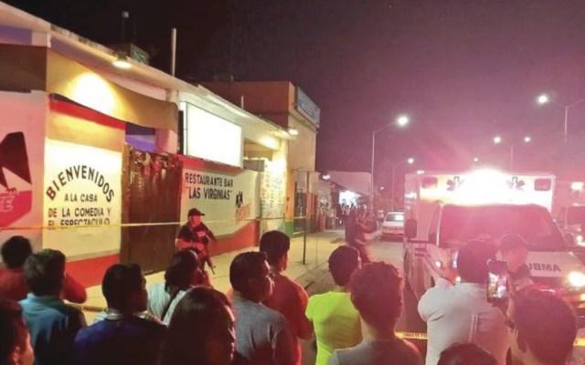Detienen a dos por ataque a bar en Playa del Carmen - detienen a dos por ataque a bar en playa del carmen