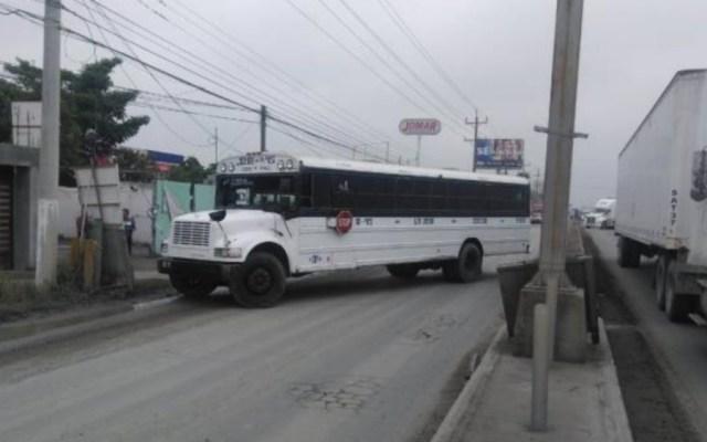 Balacera y bloqueos en Reynosa - Foto de El Mañana de Reynosa