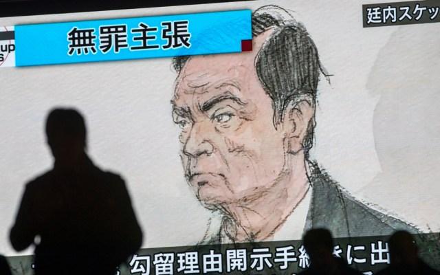 Tribunal de Tokio extiende detención de Ghosn hasta el 22 de abril - Tribunal de Tokio Carlos Ghosn