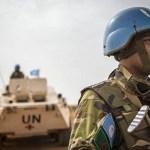 Ataque contra la ONU en Malí deja al menos ocho muertos - Casco azul de Chad. Foto de @UN_MINUSMA
