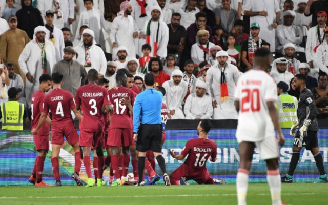 Catar golea a EAU y se clasifica a la final de la Copa de Asia - catar final copa asia