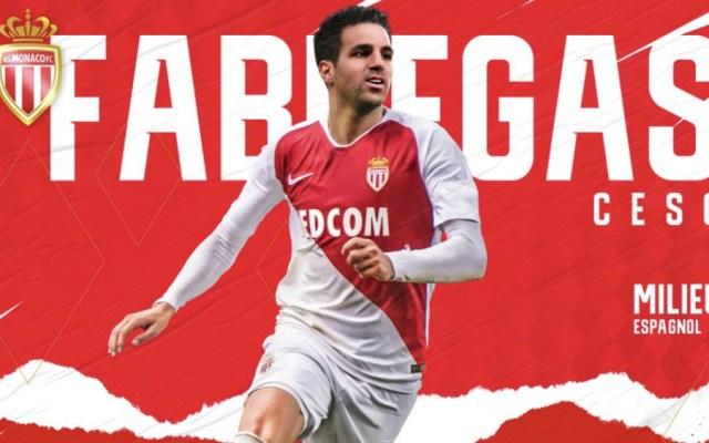 Cesc Fábregas va al Mónaco por tres años y medio - Foto de @AS_Monaco