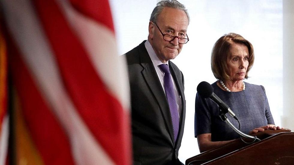 Chuck Schumer y Nancy Pelosi. Foto de ABC News