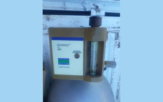 Localizan el cilindro de gas cloro robado en Guanajuato - Foto de @SeguridadGto