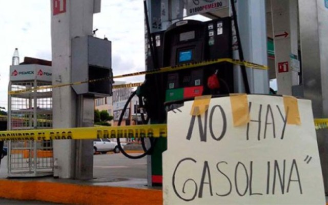 Constructores en Guanajuato perdieron 15 mmdp por desabasto de combustible - La CNDH emite recomendación por desabasto de combustible