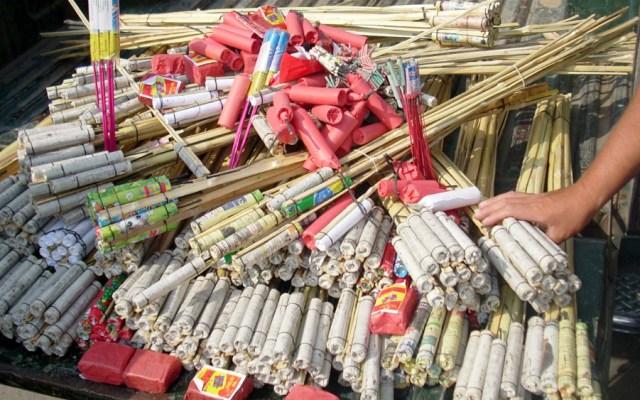 Cuatro personas sufren amputaciones por jugar con cohetes en Tijuana - Foto de Internet