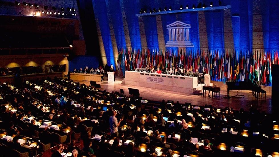 EE.UU. e Israel concretan su salida de la UNESCO - Conferencia General de la UNESCO. Foto de UNESCO
