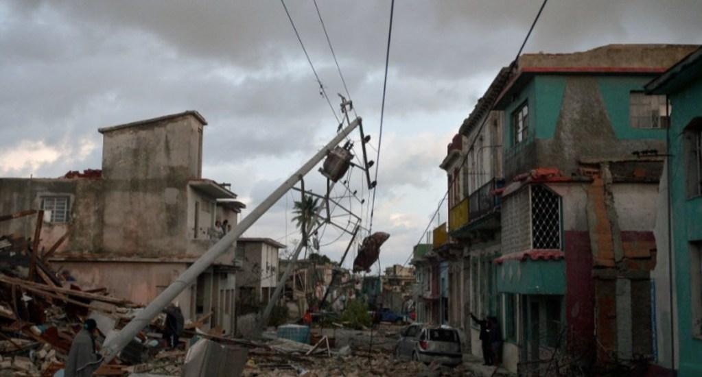 SRE confirma que no hay mexicanos afectados por tornado en La Habana - Foto de AFP