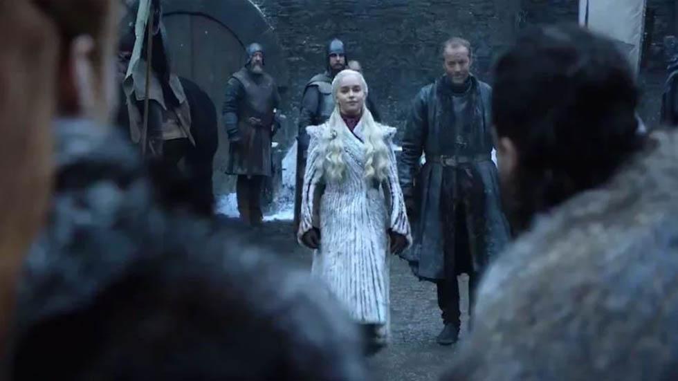Daenerys conocerá a Sansa Stark. Foto de EW