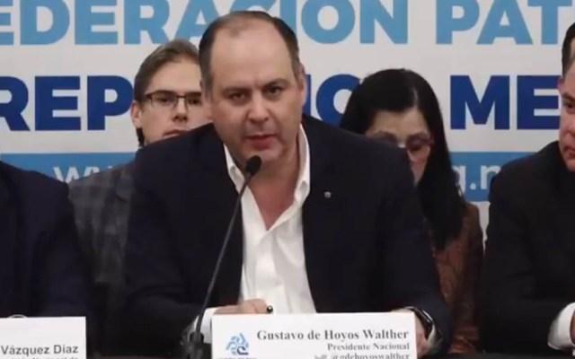 Coparmex pide investigar a cárteles por robo de combustible - Gustavo de Hoyos Walther. Captura de pantalla