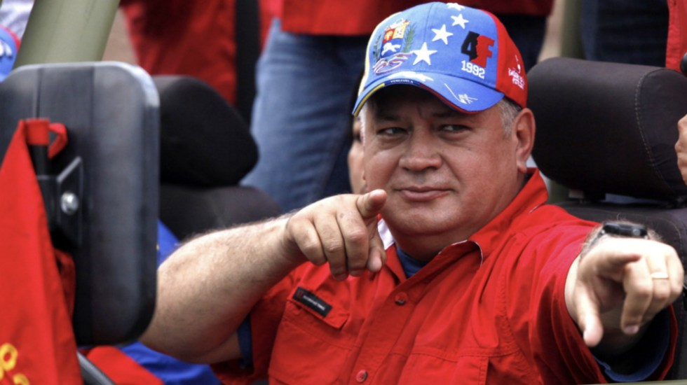 DiosdadoCabello llama asesino a representante especial de EE.UU. - Foto de @CaraotaDigital