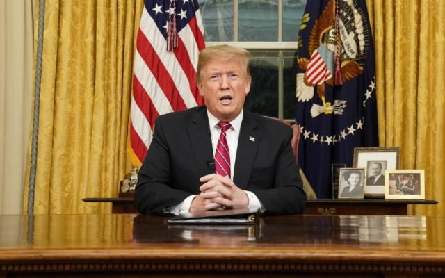 Trump promete optimismo en su discurso sobre el Estado de la Unión - trump aseguró que es más popular con los latinos por el muro