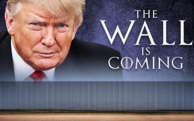 Si legisladores no contemplan un muro están perdiendo el tiempo: Trump - Donald Trump advierte que