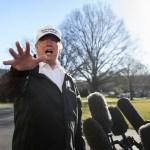 Detengan el crimen en nuestra frontera sur: Trump - Foto de AFP
