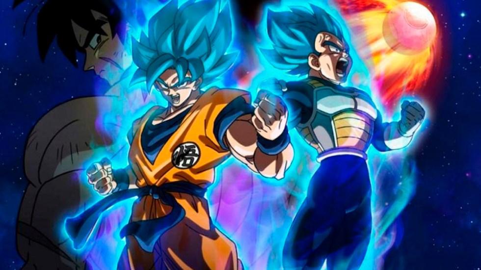 """""""Dragon Ball Super: Broly"""" lidera la taquilla en México"""