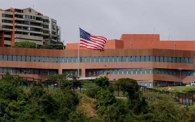 EE.UU. retira de Venezuela a su personal diplomático - Embajada de EE.UU. en Venezuela. Foto de AP
