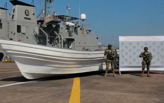 Hallan embarcación con media tonelada de cocaína en Michoacán - Foto de Milenio